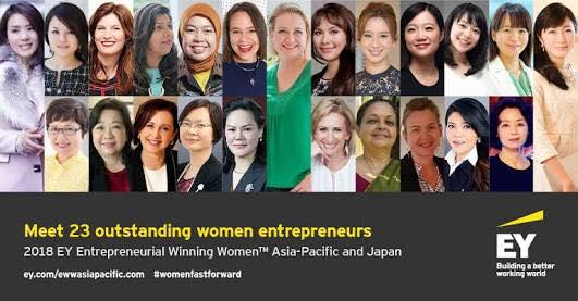 【世界の女性起業家に選ばれました】