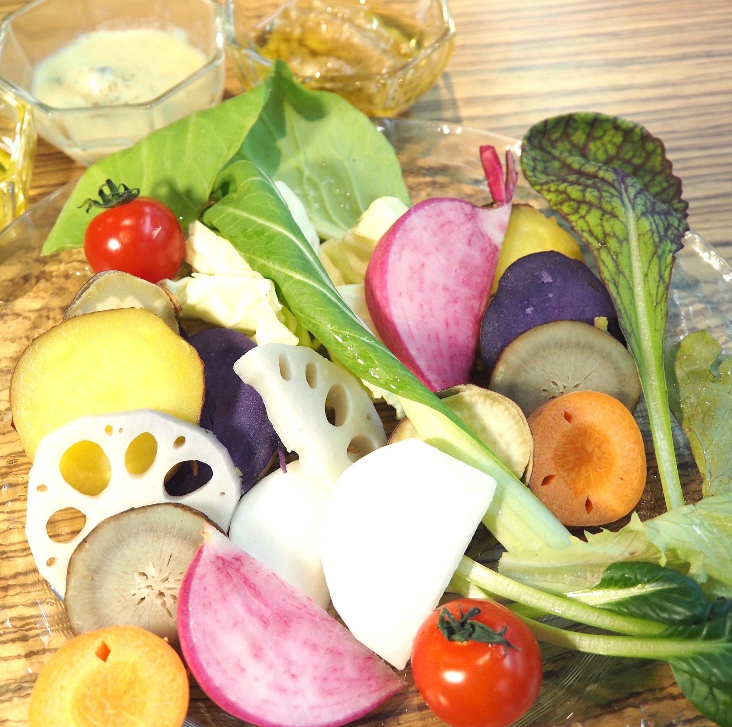 【梅田】有機野菜×イタリアンバル♪ 大阪のお野菜カフェで一服しませんか?