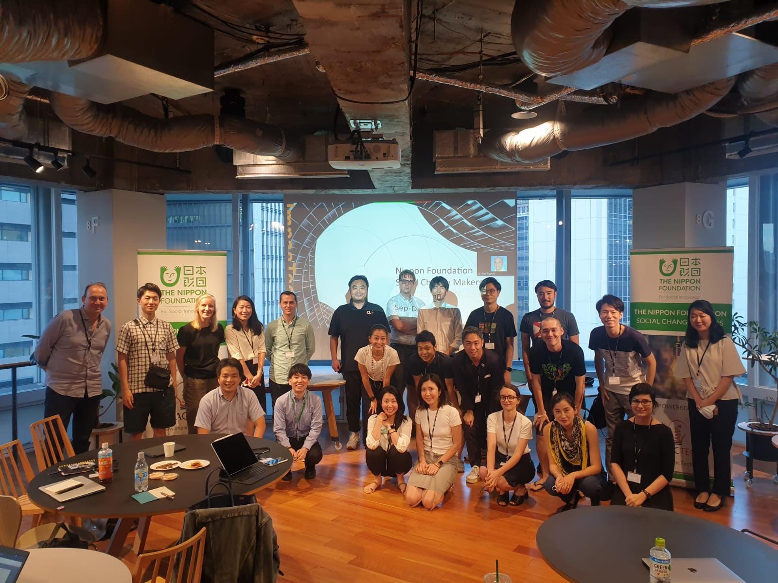 【グローバル展開への一歩】日本財団とImpacTech Japan共同主催のソーシャルチェンジメーカーズに採択されました!